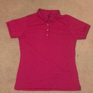 Women's Pink Polo